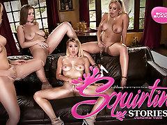 Zoey Monroe & Luna StarNatalia Starr in Squirting Stories Volume Two: Squirt Bukkake - SquirtingLesbian