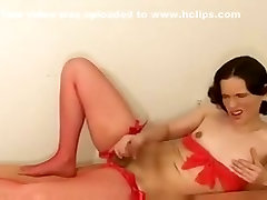 Crazy Homemade Shemale record with Masturbation, Lingerie scenes