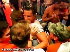Old gay nude party and group of young guys masturbating