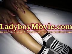 Ladyboy Rinda Gives A Blowjob