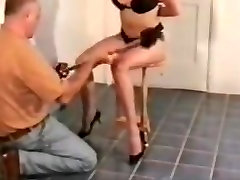 Mature slave slut exposed and tied
