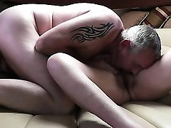 Deep amateur blowjob by mature bbw
