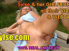 Big boobs MILFs with strapon in front of TEEN