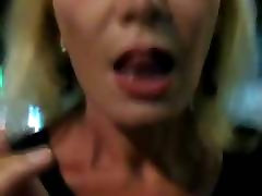 Mature Smoking In Heels Showing Pussy in Public