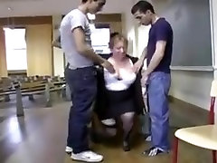 Bbw french professor