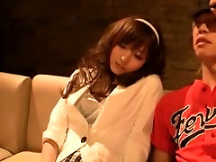Fabulous Japanese whore Yu Asakura in Crazy Small Tits, Stockings JAV movie