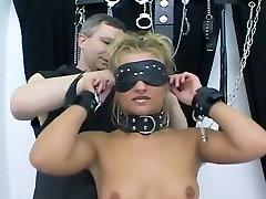 Hottest homemade BDSM, Spanking porn clip