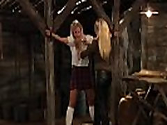 Slaves Homecoming: Naughty Mistress Plays With Slave In Chains
