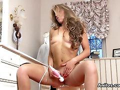 Vanessa Jordan in Vision In White - Anilos