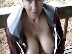 Outdoor mature toying