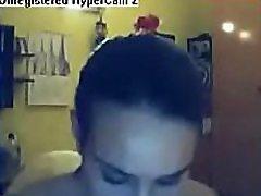 Cute brunette slut on webcam - DickGirls.xyz