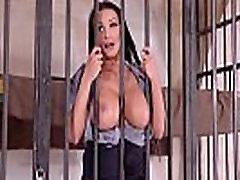 Crazy Hot Prison Guard Patty Michova Fucks Prisoners Big Dick
