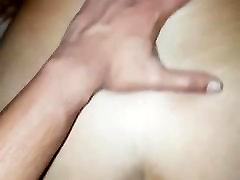 Fucking and spunking on my sexy British Indian wife&039;s ass