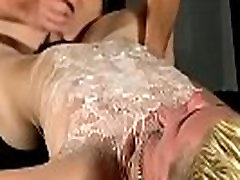 Male bondage gay Splashed With Wax And Cum