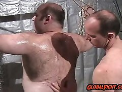 Beefy Bear Bondage BDSM Tiedup Chained Hairy Musclebears