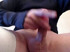 My solo 100 Masked pink lady fuck and growling hot load