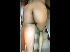 naked chocolate ass butt naking walk around the house 6