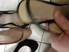 Heel cum...coworkers heels