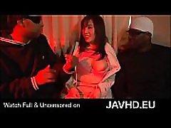 Japanese schoolgirl enjoys playing with big black cocks - full http:javhd.eu