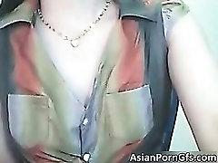Sexy brunette asian chick in sexy bikini part3