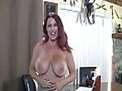 Mature in stockings with big tits