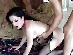 Big boobed Cassie Young and Renee Pomero love to share cum