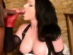 Amazing alternative chick sucks and fucks big sexy cock