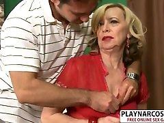 Big tits Mother Miranda Torri Bangs Sweet Her Step son