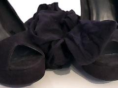 My Sister&039;s Shoes: Black Club Heels I 4K