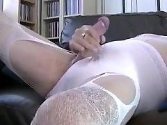 cumming on knickers panties