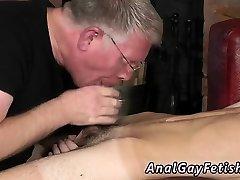 Gay extreme fisting bondage movie and boy porno Spanking