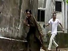 Aunty Nav l Slips in saree - YouTube 360p