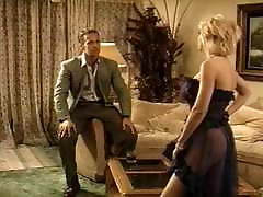 Hot blonde pussy fucked vintage style by Rocco
