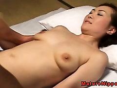 Mature asian with nice body pov fucking