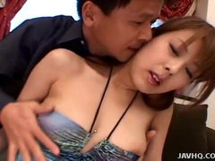 Japanese teen close up pussy licking and