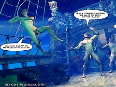 ADVENTURES OF CABIN BOY 3D Gay World Story