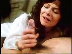 Vintage retro mature woman blowjob with big cumshot