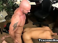 Spencer Williams gets fucked hard a by a mature stud