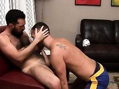 Gay dick hungry bears munching pole