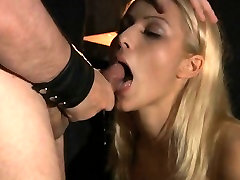 Harsh bdsm session for a sexy blonde slave