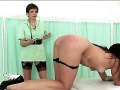 Mature british lesbian spanks