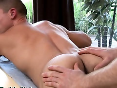 Hunky jock massage and tug