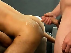 Angel Rock gets his ass fucked and cummed on