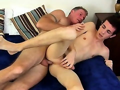 Gay twinks Daddy Brett obliges of course, after sharing some