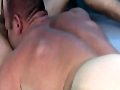Muscled stud hunk rims tight butthole