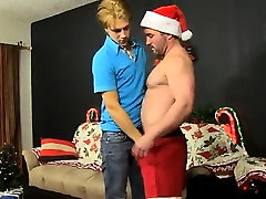 Gay video Patrick Kennedy catches hunky muscle fellow Santa