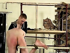 Gay video With some immense fucktoys to ease the dude open,