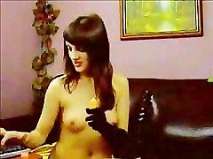 Hot Anal Dildo Fucking Webcam Slut