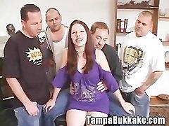 Teen Slut Bukkake Gang Bang