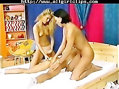 3 Young Lesbians With Strapon lesbian girl on girl lesbians